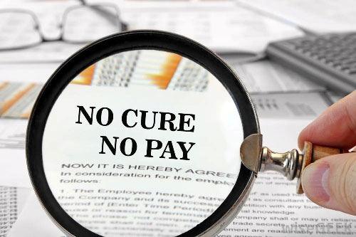 No cure no pay